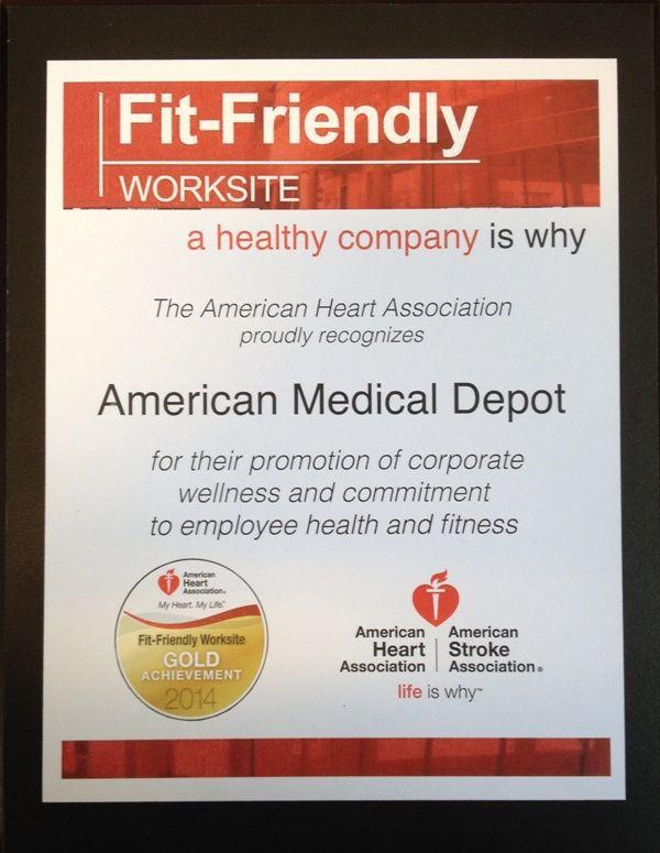 AMD - AHA Fit Friendly Company