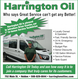 Harrington Oil Announces New In House Oil Burner Repair Technician Brian Grenier