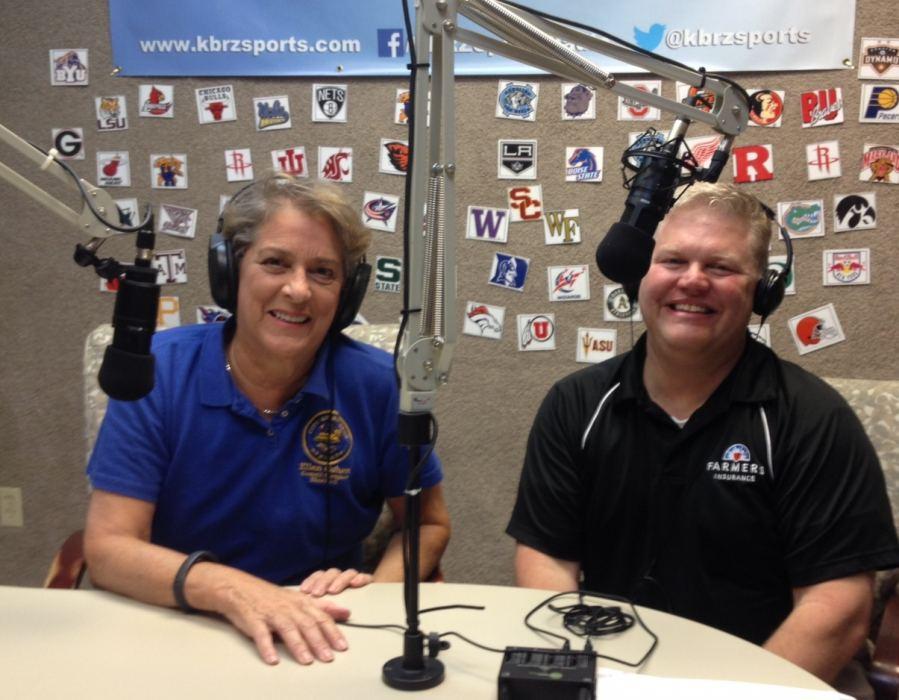 Houston Council Member Ellen Cohen and Host, David Lorms