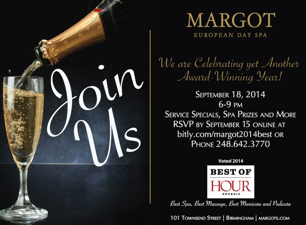 Celebrate with Margots