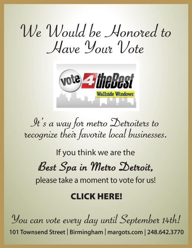 Vote for Margots