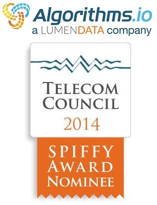 Algorithms.io, 2014 SPIFFY Awards Nominee
