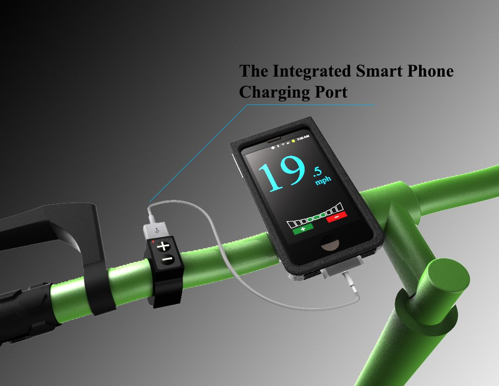 Integrated Smart Phone Charging Port