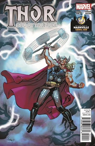 God of Thunder #25 Variant Cover by Tom Raney