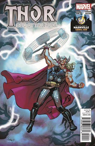 God of Thunder #25 Variant Cover by Tom Raney