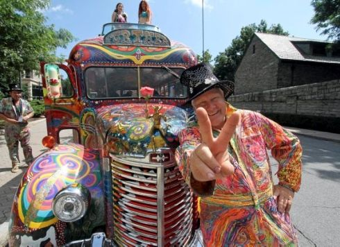 Zane Kesey and Furthur