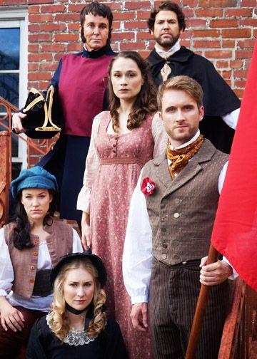 Photo by Landon St. Gordon features the leading cast members of 'Les Miserables'