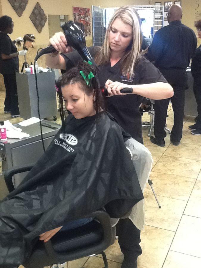 Kathryn Jennings at Hair Benders