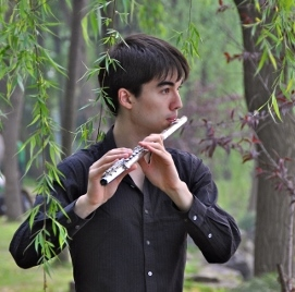 Adrian Sanborn, Winner 34th Annual James Pappoutsakis Flute Competition
