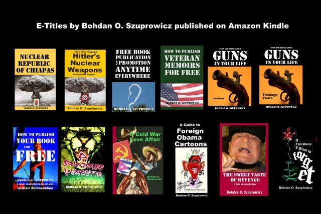 E-Titles published by Szuprowicz on Amazon Kindle recently