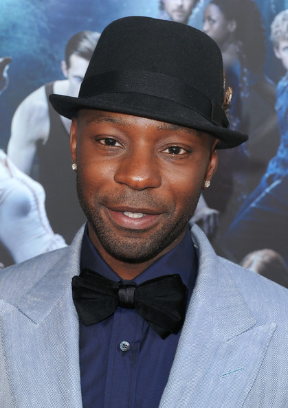 The 38-year old son of father (?) and mother(?), 178 cm tall Nelsan Ellis in 2017 photo