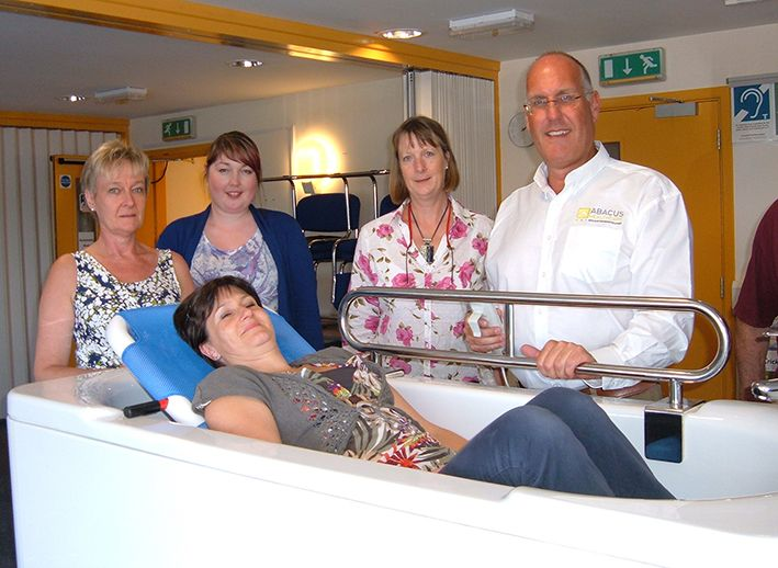 The latest Abacus Healthcare specialist-bathing workshop was a success