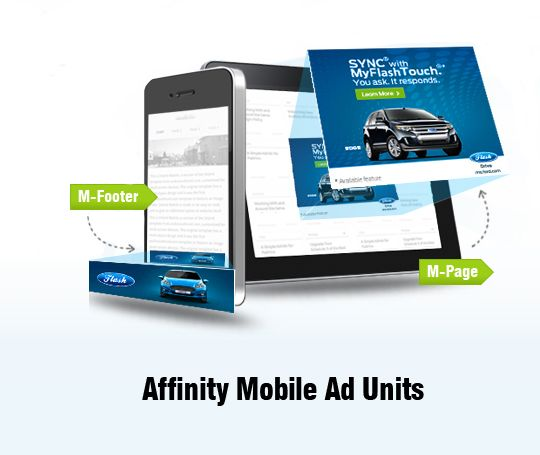 Affinity Mobile Ad Units