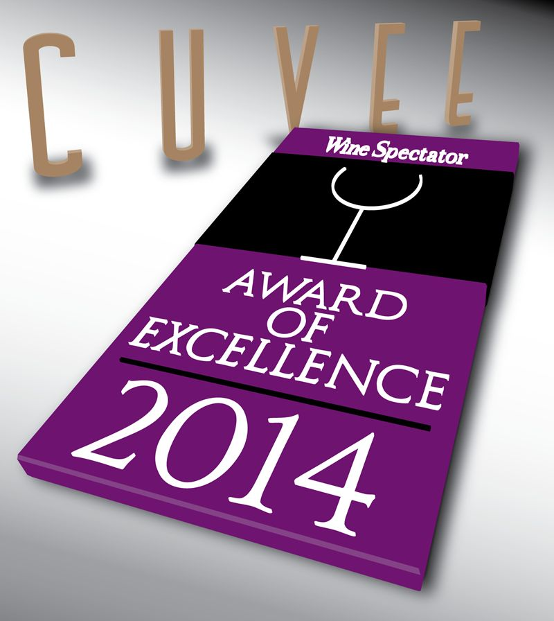 Cuvee Collects Fourth Consecutive Wine Spectator Award Of