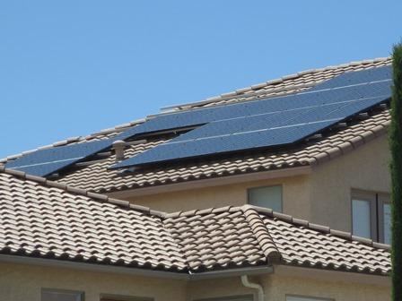 AP Solar Nevada system