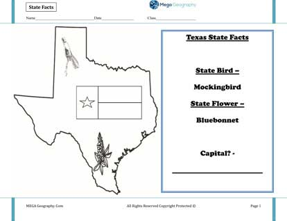 State-Facts-Texas