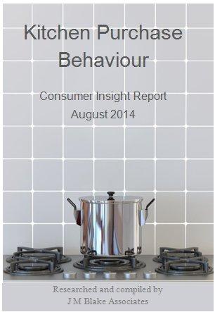 Kitchen Purchase Behaviour, Consumer Insight Report Aug 14