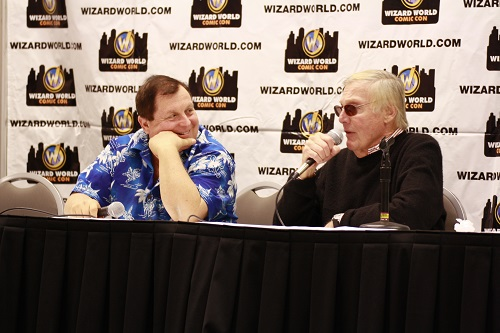 Adam West Burt Ward Panel (photo by Nicole Bauer)