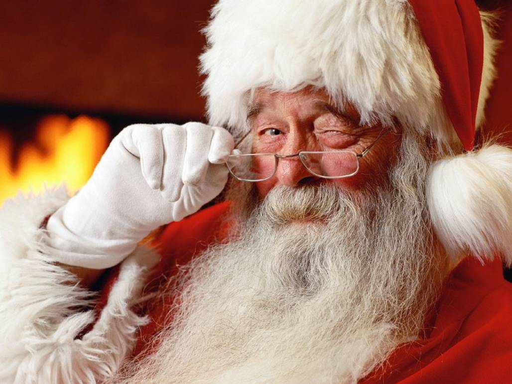 Santa Clause Picture by Ron Robey