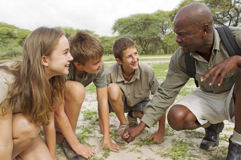 Family fun in Botswana