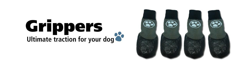 Grippers Non Slip Dog Socks