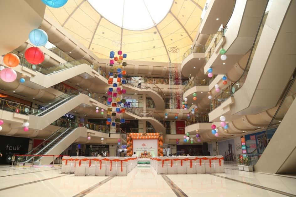 Inside Decor of CG Square