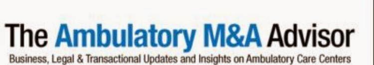 Ambulatory M&A (2)