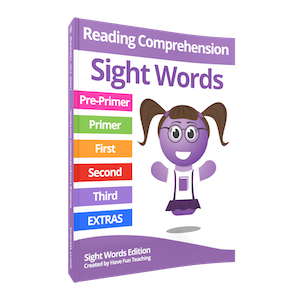 Sight Words Reading Comprehension Workbook