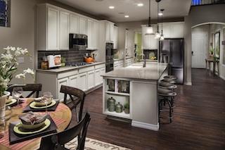 Lennar's Silverleaf Kitchen Floorplan