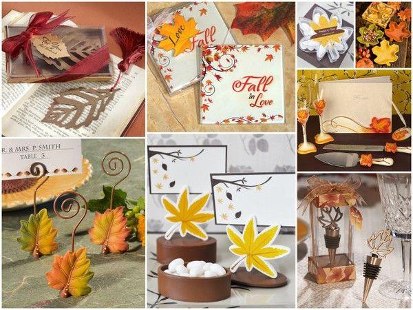 Fall Wedding Favors from HotRef.com