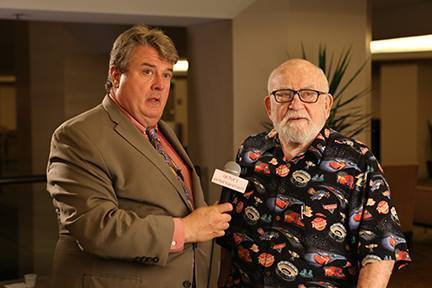 Kurt Kelly and Ed Asner