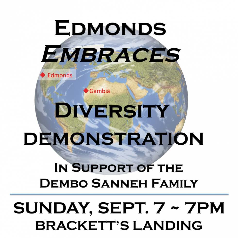 Edmonds, WA Residents Gather in Support of Diversity