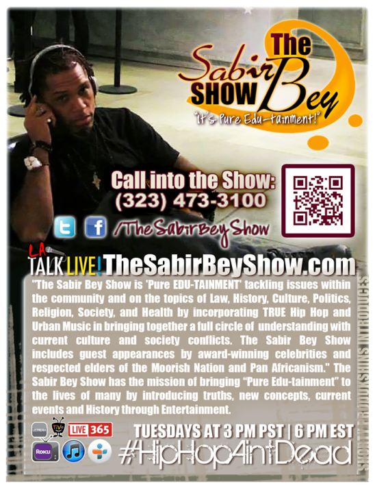 The Sabir Bey Show is 'Pure EDU-TAINMENT'