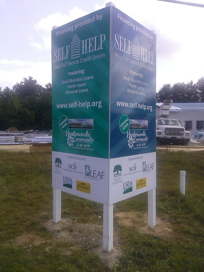 Self-Help Credit Union supporting local Co-Op