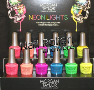 The Neon Lights Collection, one of two Fall 2014 sets from Morgan Taylor.