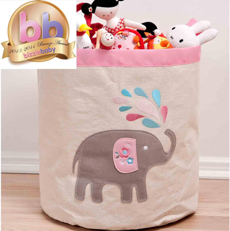 Elephant Toy Storage Hamper   Lovably Me