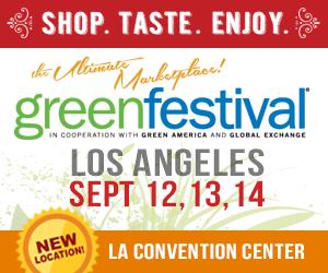 LA Green Festival 10-6:00 pm Sunday Sept. 14th