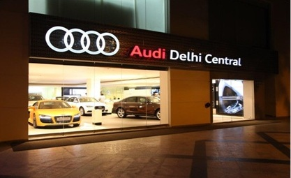 Audi Delhi Central Is The Biggest Audi Luxury Car Showroom In India Audi Delhi Central Prlog