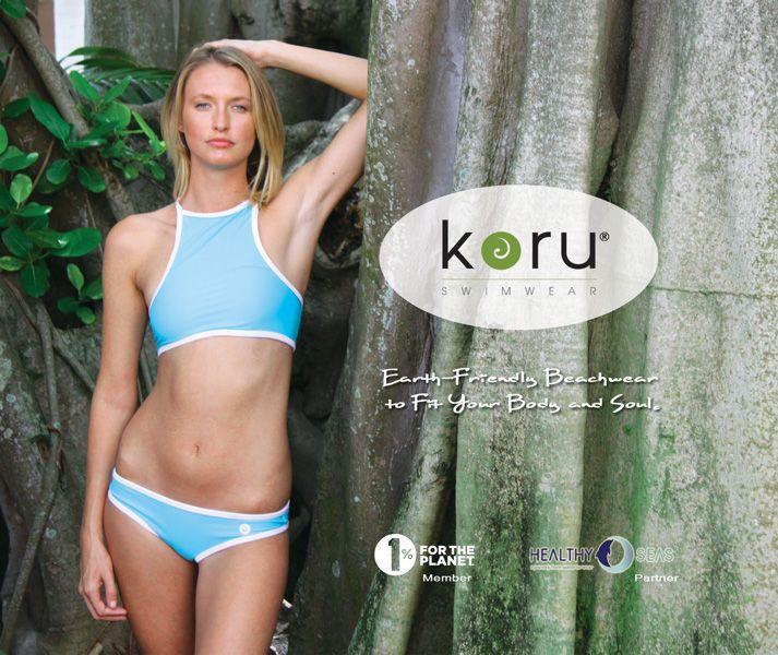 Earth-Friendly Koru Swimwear