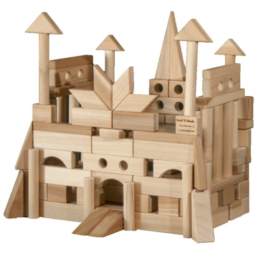 favorite childhood toys wooden blocks  u0026 building logs