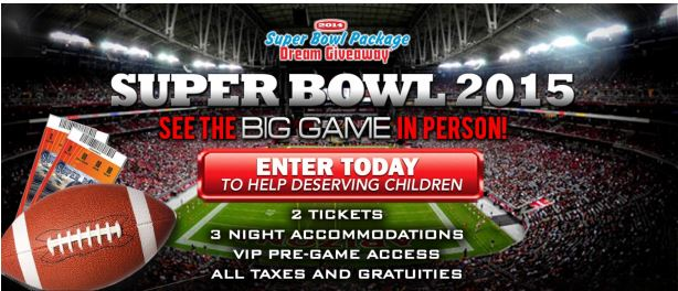 How to win super bowl tickets