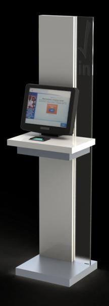 Clearwave Registration Kiosk