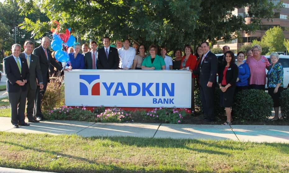 Yadkin Bank Sign Unveiling