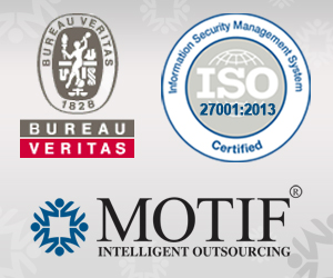 Motif is the first outsourcing company in india to be for Bureau veritas india