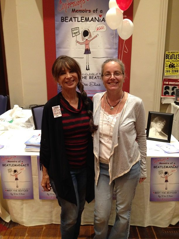 Author Dee Elias and publicist Jennifer Vanderslice