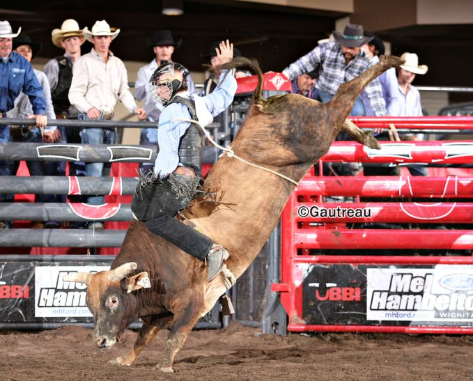 from Prince don gay bull riding salina ks