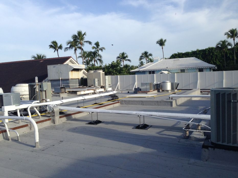 Commercial Roofing Company Restores Port Royal Club In
