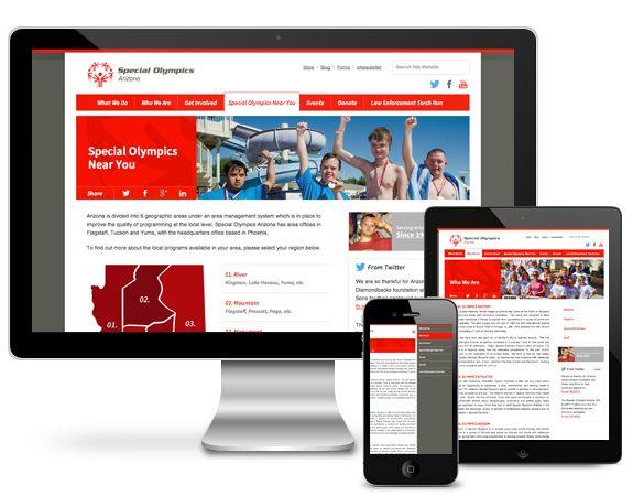 I-ology Launches New Responsive Special Olympics Arizona Website