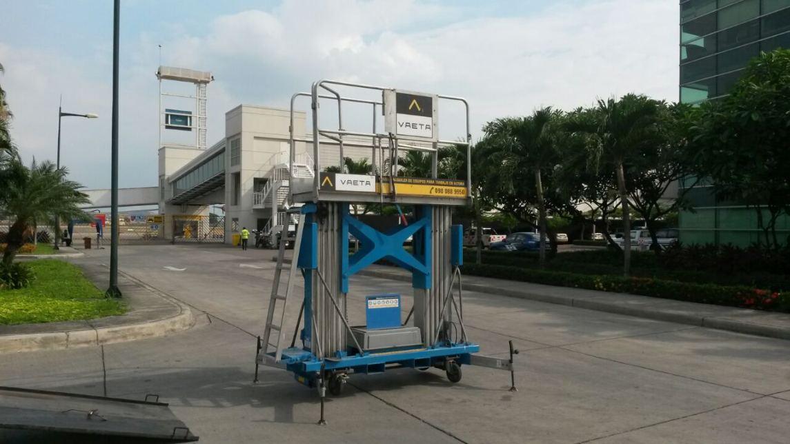 elevador de tijera dpl en Ecuador