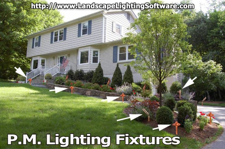 Outdoor Landscape Lighting - P.M. Lighting, Nashville, TN